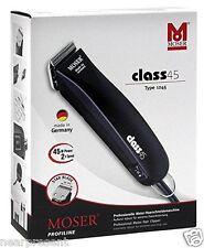 Moser Rasoio per capelli Classe 45 + 1245 / 1 mm Set taglio Unità alimentazione