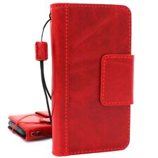 genuine leather Case for Samsung Galaxy S9 Plus Cards Slim holder Red wine Davis