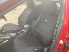 Neoprene Sharkskin Car Seat Covers for Mitsubishi Triton MQ MR Fronts BLK