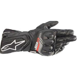 ALPINESTARS SP8 V3 Leather Motorcycle Glove Black AS3558321001060 Size LARGE