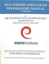 HVAC EPA 608 CERTIFICATION PREPARATORY MANUAL (ENGLISH)