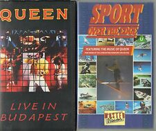 SPORT OVER THE EDGE FEATURING THE MUSIC OF QUEEN & QUEEN LIVE IN BUDAPEST VIDEOS