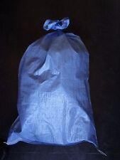 50 blaue neue Gewebesäcke Laubsack 25 kg Getreidesack Lastsack Sack Gewebesack