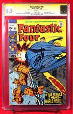 FANTASTIC FOUR #95 (Marvel 1970) CGC 8.5 SS VF+ signed STAN LEE & JOE SINNOTT!!!