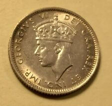 Newfoundland - George VI - 10 Cents - 1941C - Choice Brilliant Uncirculated