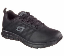 76576 Skechers Women's SURE TRACK-ERATH SR Work Shoes Black