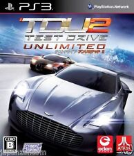 Used PS3 Test Drive Unlimited 2 SONY PLAYSTATION 3 JAPAN JAPANESE IMPORT