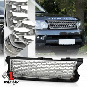 For 2010-2013 Range Rover {AUTOBIOGRAPHY STYLE} Black/Chrome/Silver ABS Grille