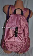 Victoria's Secret PINK Campus Buckle School Bag Backpack Begonia Rose Black Gold
