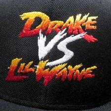 DRAKE vs. LIL WAYNE hip hop cap NWT rap snapback hat Street Fighter tour 2014