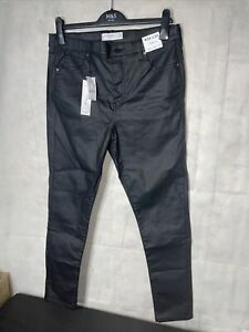 Top Shop Jamie High Waiste Skinny Trousers. New Tagged W34 L32
