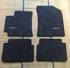 2009 - 2011  TOYOTA COROLLA GENUINE OEM CARPET FLOOR MATS Mat  Black