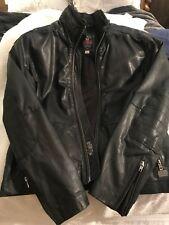 Diesel Leather Jacket Mens XL