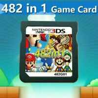NEW 482 in 1 Video Games Cartridge Cards For DS NDS 2DS 3DS NDSI NDSL FAST HOT