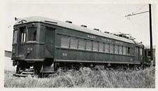 7G319 RP 1942 SAN FRANCISCO & NAPA VALLEY RAILROAD CAR #63 NAPA JUNCTION CA
