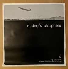 Duster Stratosphere official poster glossy Up Records rare nm unused