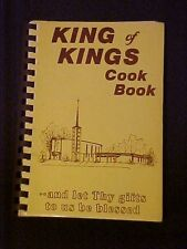King of Kings Cook Book Chesterfield MO Lutheran Church Cookbook