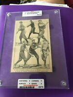 1909 Spalding Sports Photo Boston Braves Graded Mint Condition (Rare)
