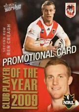 St George Illawarra Dragons Original 2011 Season NRL & Rugby League Trading Cards