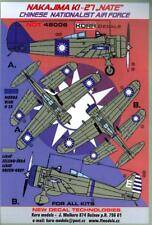 """KORA Decals 1/48 NAKAJIMA Ki-27b """"NATE"""" Chinese Nationalist Air Force"""