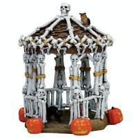 """Lemax Spooky Town """"Skeleton Gazebo""""  2007 NEW IN BOX!"""