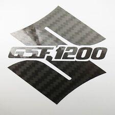 S GSF 1200 Fibra de carbono pegatinas a medida gráficos 70mm x 70mm