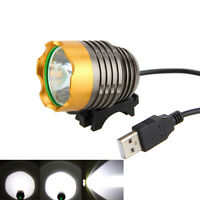 5000LM XML-T6 LED USB Head Front Bike Lamp Bicycle MTB Light Headlight 3Modes