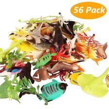 56 Animali Marini 4-7 cm Pesci Alghe e Coralli Gioco Educativo Bagnetto Bambino