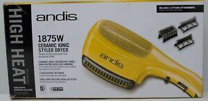 Andis #82105 1875W Ceramic Ionic Hair Styler Dryer 3 Heat Settings NEW