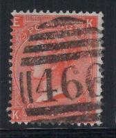 Großbritannien 1865 Mi. 24 Gestempelt 100% 4 Pence, Königin Victoria, 12