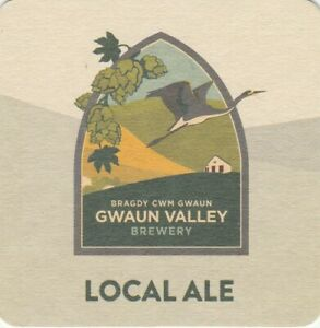 BEER MAT - GWAUN VALLEY BREWERY - LOCAL ALE - (Cat No 003) - (2021)