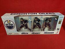 MCFARLANE NHL HOCKEY EDMONTON OILERS 3 PACK - SMITH - HEMSKY - PRONGER FIGURES