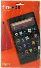 New Amazon Kindle Fire HD 8 Tablet with Alexa,16GB Latest UK Model Red/black