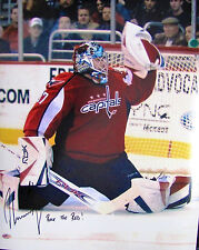 "Olaf Kolzig signed 16 x 20 Washington Capitals ""Rock The Red"" Inscription"