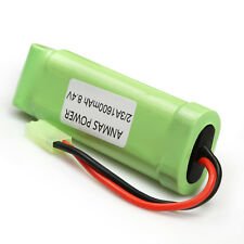 8.4V 1600mAh NiMH 2/3A Airsoft Flat Pack Rechargeable Battery Pack  AnmasPower