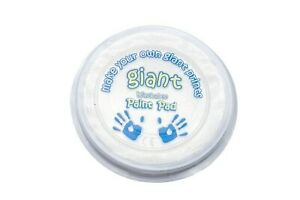 Giant WHITE Paint Pad (15cm) - Hand, Printing, Stamping, Arts & Crafts, Children