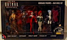 DC The New Batman Adventures Bendable Figures Bad Girls Set 5-Pack New MISB