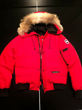 Canada Goose Red Chilliwack Bomber Jacket Red Great Condition Authentic