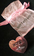 MOET CHANDON CHAMPAGNE  PINK HEART CLIP NEW