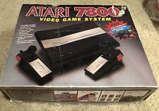 Atari 7800 Video Game Pro System Console With Box/Pole Position II - Tested