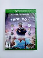 Tropico 6 El Prez Edition XB1 Microsoft Xbox One Video Game Kalypso New Sealed