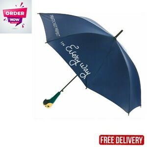 Paladone Mary Poppins Umbrella with Parrot Handle - Officially Licensed Disney M