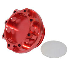BLITZ Engine Oil Fuel Filler Tank Cap Cover Red For Subura Impreza WRX Legacy GT