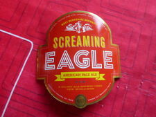 """WEST BERKSHIRE BREWERY """" SCREAMING EAGLE """"  CURVED PUMP CLIP FRONT  ( CLEAR B )"""