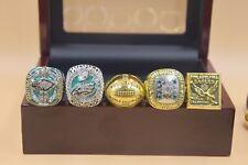 5 Pcs 1948 1949 1960 2017 2017 Philadelphia Eagles Championship Ring !!!