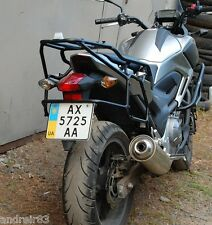 Honda NC700X Whole-welded luggage rack system Black Mmoto MM15