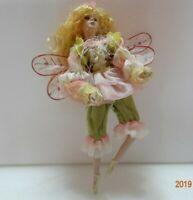 Shelf Sitting Female Garden Fairy 13 Inches