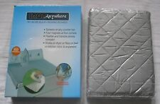 IRON ANYWHERE PADDED HEAT RESISTANT TRAVEL IRONING SURFACE + FIXING MAGNETS  BN