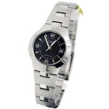 Casio LTP1241D-1A Ladies Stainless Steel Round Quartz Dress Watch Black Dial