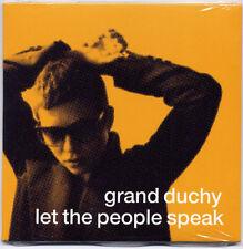 GRAND DUCHY Let The People Speak UK promo CD SEALED Frank Black Pixies